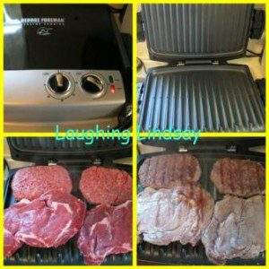 how to cook sirloin steak on george foreman grill
