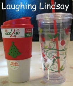 Eco2Go Holiday Cups