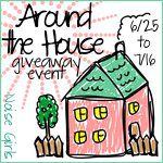 Around the House Event Button Master Bathroom Prize Package Giveaway