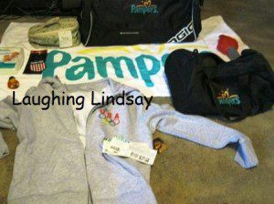 Pampers Reviewers Retreat Swag