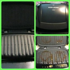 George Foreman Removable-Plate Grill
