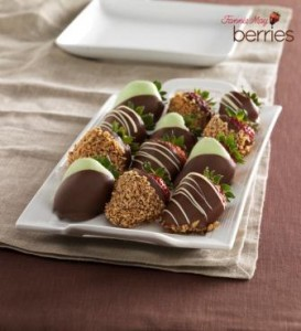 Fannie May Favorites Chocolate Dipped Strawberries