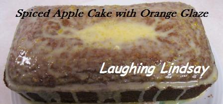spiced apple cake