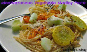 Mediterranean Vegetable Medley Pasta