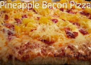 Pineapple Bacon Pizza