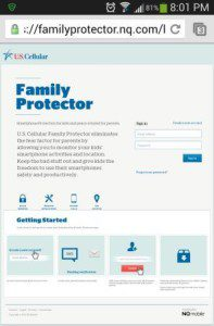 Family Protector App