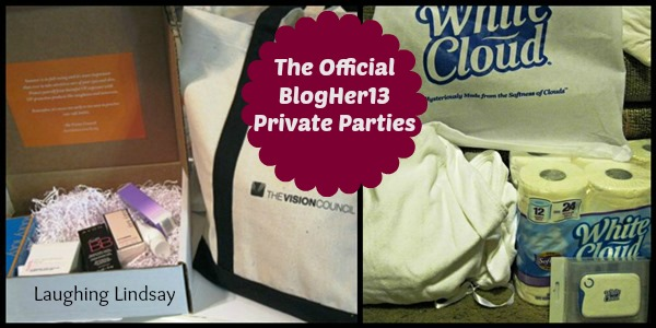 BlogHer Private Parties