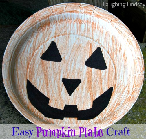 Pumpkin Plate Craft