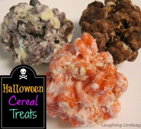 Halloween Cereal Treats