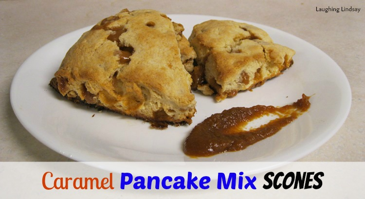 pancake mix scones recipe