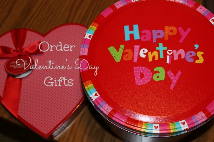 order Valentine's Day gifts