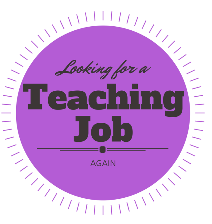 Looking for a Teaching Job