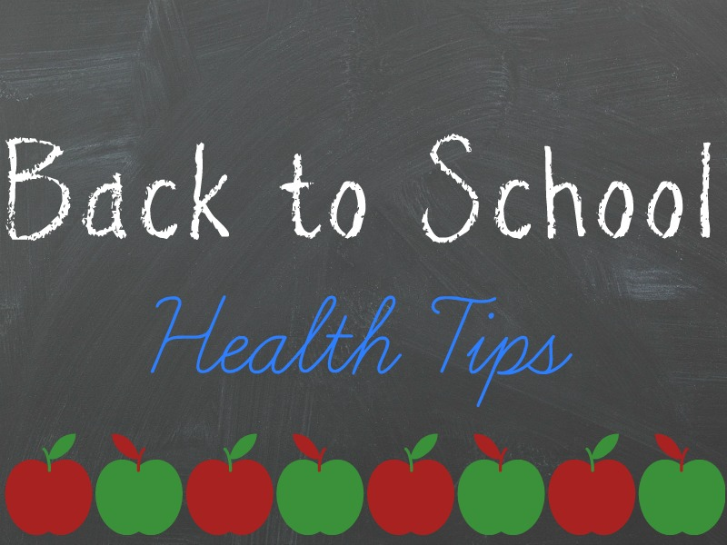 Back to School Health Tips for Parents and College Students