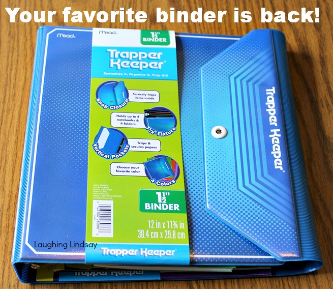 Trapper Keeper Binder System Is Back #TrapperKeeperIsBack