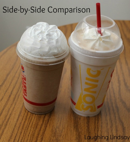 fast food chain milkshake comparison