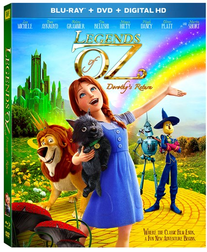 Legends of Oz DVD Release Date is August 26th. See Dorothy's Return DVD Cover.