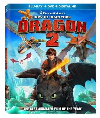 How to Train Your Dragon 2 Blu Ray Cover