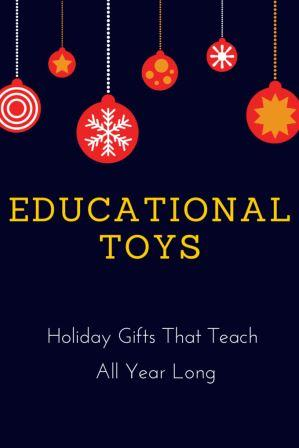 Educational Toys Teach All Year Long