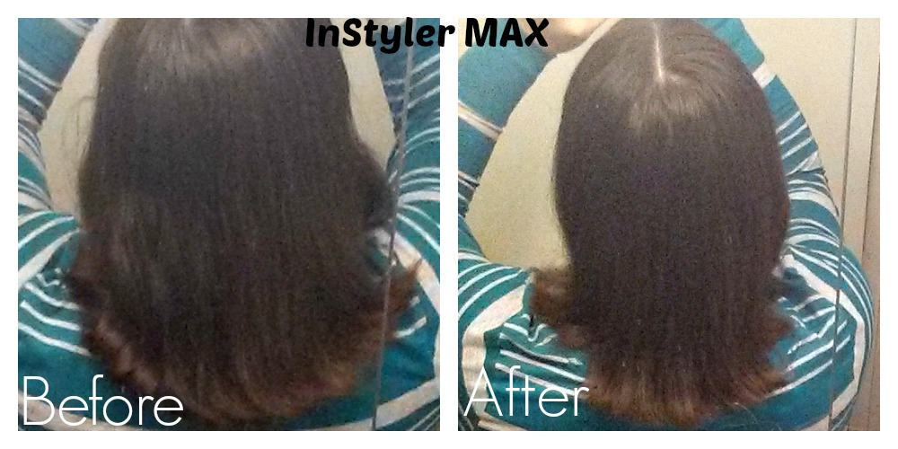 InStyler Max Before and After Photo