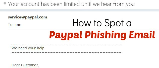 How to Spot a Paypal Phishing Email