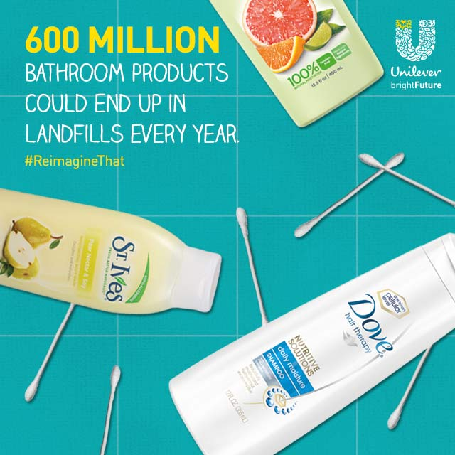 Unilever Bathroom Products in Landfill