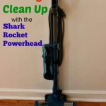 Post Holiday Clean Up with Shark Rocket Powerhead Vacuum