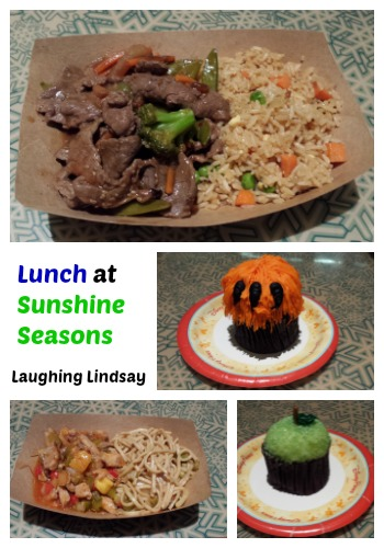Disney World Epcot Sunshine Seasons Lunch